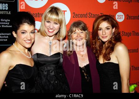 Anneliese Van Der Pol Sarah Stiles And Lauren Kennedy Opening Night Stock Photo 35548520 Alamy