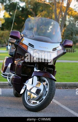 Honda Goldwing Motorcycle - Stock Photo