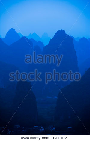 Yangshuo, Guilin, Guangxi, China - Stock Photo