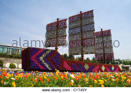World Horticultural Expo Garden, Kunming, Yunnan, China - Stock Photo