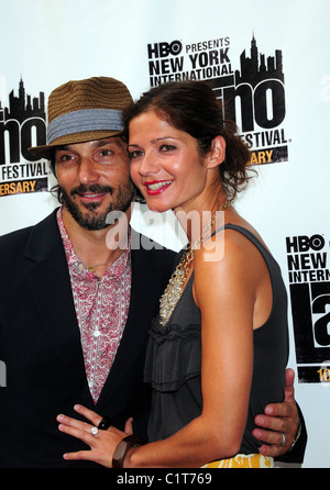 Jill Hennessey and Guest, 10th Anniversary of the New York International Latino Film Festival - Premiere of 'La - Stock Photo