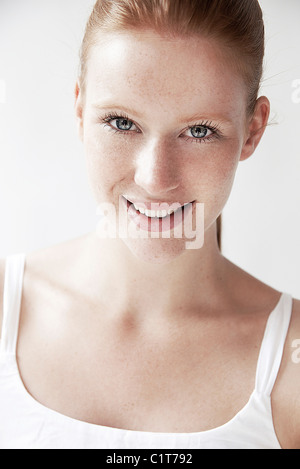 Young woman, portrait - Stock Photo