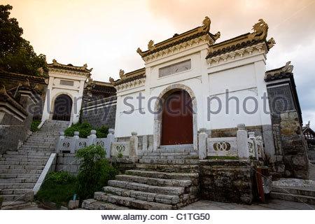 Qingyan Ancient Town, Guiyang, Guizhou Province, China - Stock Photo
