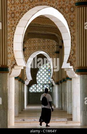 Hall in the Great Mosque, Touba, Senegal, West Africa - Stock Photo