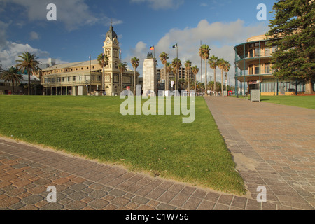 Moseley Square, Glenelg, Adelaide, South Australia. - Stock Photo