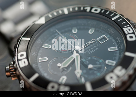 Close up of Chronograph Watch - Stock Photo