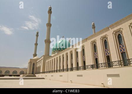 Turkmenistan, Saparmurat Haji Mosque - Stock Photo