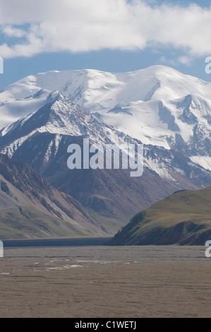 Kyrgyzstan, Mountains near Sary Tash - Stock Photo