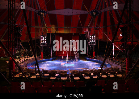 Inside · Inside an empty Big top tent - Stock Photo & Interior of circus tent Stock Photo Royalty Free Image: 310009089 ...