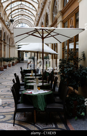 A Priori-Thé restaurant, Passage Vivienne, Paris France - Stock Photo