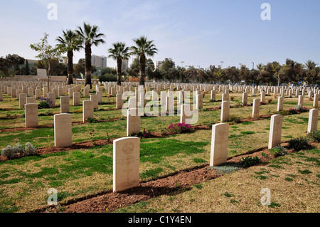 Israel, Beer Sheva, Commonwealth War Cemetery - Stock Photo