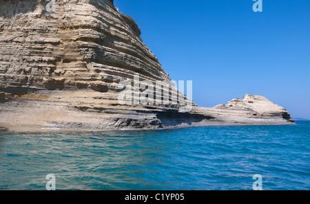 Greek sea (Corfu island,Greece) - Stock Photo