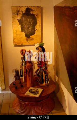 High end mexican folk art in a gallery in san miguel de for High end art galleries