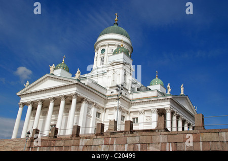 Famous landmark building the white stone columns of St ...
