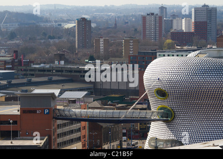 Selfridges and surrounding area, Birmingham, West Midlands. - Stock Photo