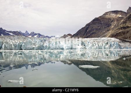 Knud Rasmussen glacier, Greenland - Stock Photo