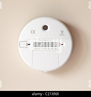 Carbon Monoxide alarm - Stock Photo