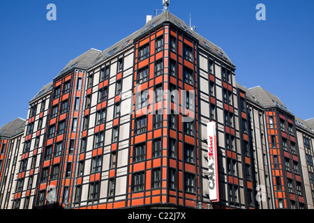 Modern architecture on Friedrichstrasse, Berlin, Germany - Stock Photo