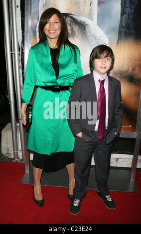 Catherine Keener, Max Records New York premiere of 'Where the Wild Things Are' at Alice Tully Hall - Arrivals New - Stock Photo