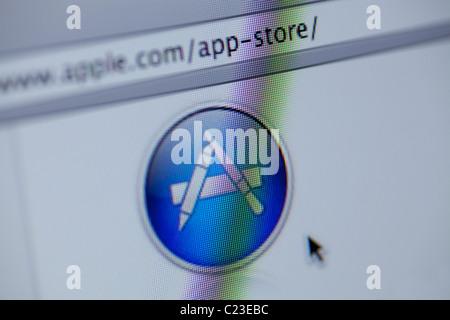 Apple App Store - Stock Photo
