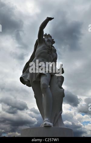 Statue of Apllo, Privy Garden, Hampton Court Palace - Stock Photo