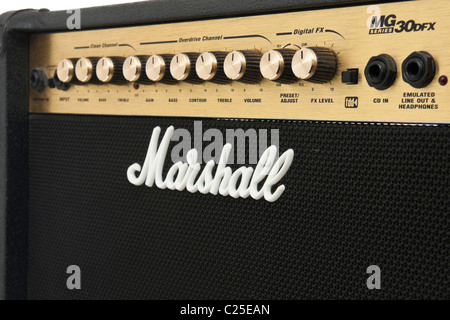Marshall MG-series 30DFX electric guitar amplifier - Stock Photo