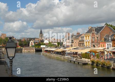 Picardie/Somme/Amiens: Saint-Leu Viertel - Stock Photo