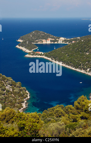 Croatia, Zaklopatica place on Lastovo island. - Stock Photo