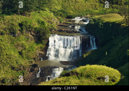 St clairs falls Sri Lanka - Stock Photo