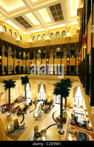 Shangri-La Hotel Qaryat Al Beri, Abu Dhabi, United Arab Emirates. - Stock Photo