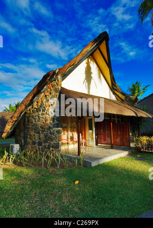 La Pirogue Hotel Chalet accommodation. Flic en Flac, Mauritius