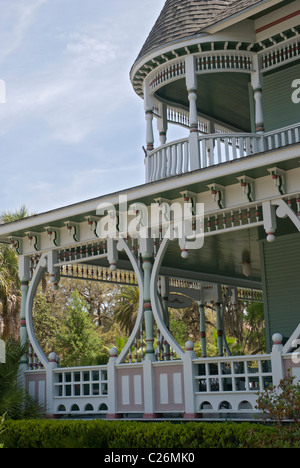 The Camellia House an old Victorian style home in the historic district of Gainesville Florida - Stock Photo