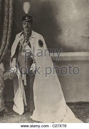 A photograph of Amanullah Khan, the Amir of Afghanistan. - Stock Photo