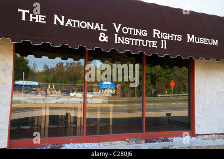 The National Voting Rights Museum and Institute located in Selma, Alabama, USA.