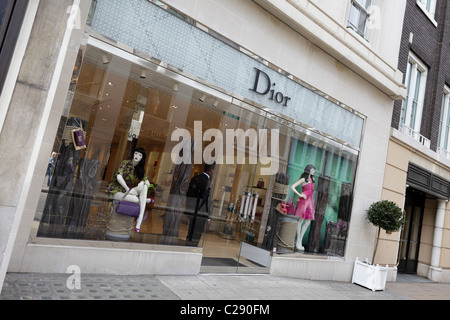 luxury high end woman s designer store dior viewed here in their new