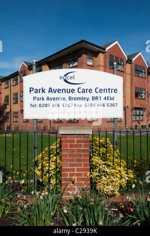 Park Avenue Care Centre Run By Excelcare Stock Photo Royalty Free