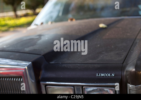 Lincoln car in the streets of Miami Beach, FL. - Stock Photo