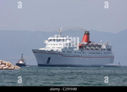 Passenger Car Ferry - Stock Photo