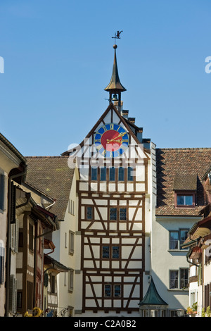 Gate of Stein am Rhein, Switzerland - Stock Photo