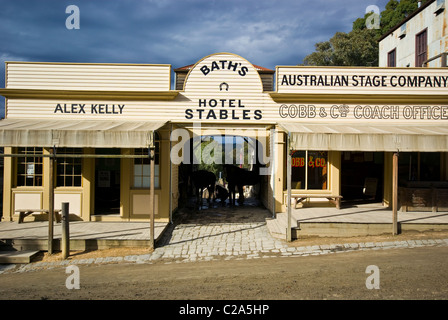 Restaurant At Sovereign Hill Ballarat Vic
