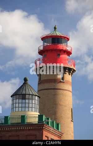 Kap Arkona Lighthouse on Island Rügen - Stock Photo