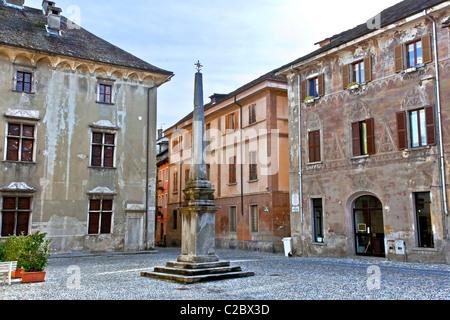 Domodossola in Piemont, Italy - Stock Photo