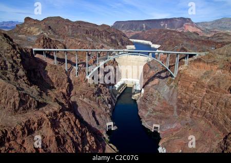 Pat Tillman and Hoover Dam - Stock Photo