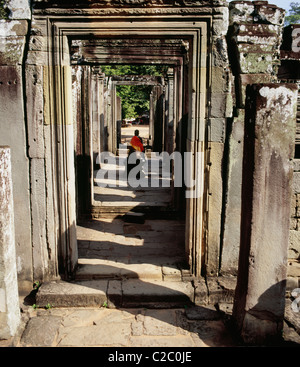 Angkor Thom Siem Reap Cambodia - Stock Photo
