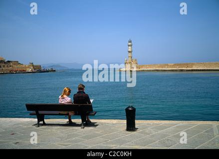 Chania Crete Greece - Stock Photo
