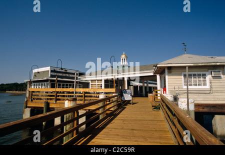 Jekyll Island Georgia USA - Stock Photo