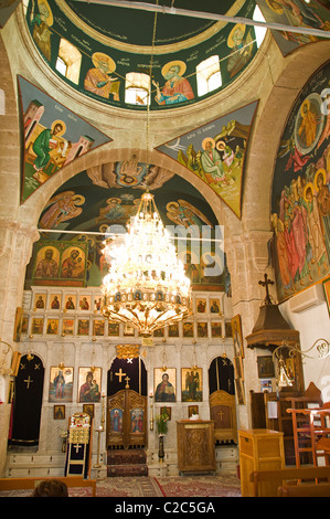 Maalula Convent of st Theda Catholic Christ Church - Stock Photo