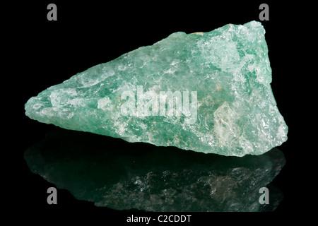 Aventurine crystal from Brasil - Stock Photo