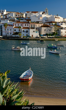 Portugal, Algarve, Ferragudo - Stock Photo