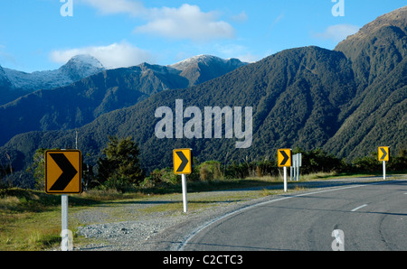 Westland Tai Pountini National Park, West Coast, New Zealand - Stock Photo